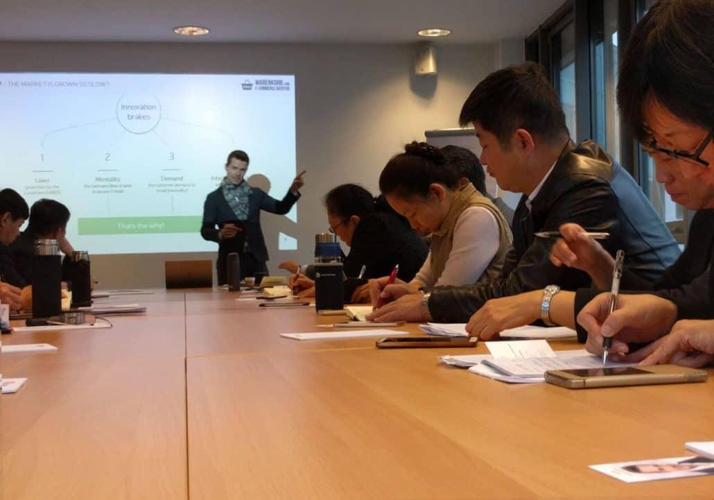 Onlineshop Experte Vortrag China